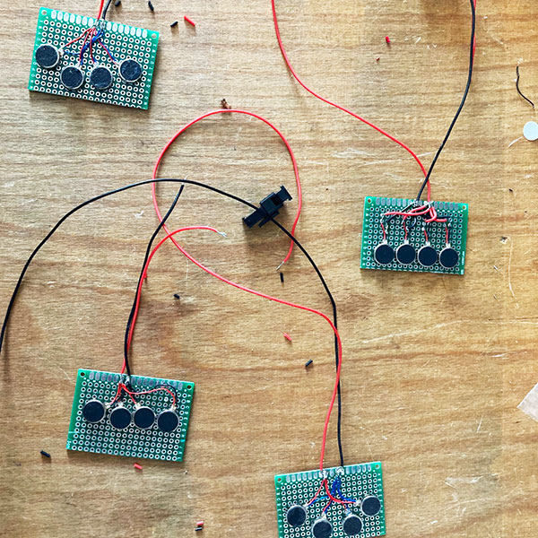 Haptic Corset Electronics   INTER/her Project