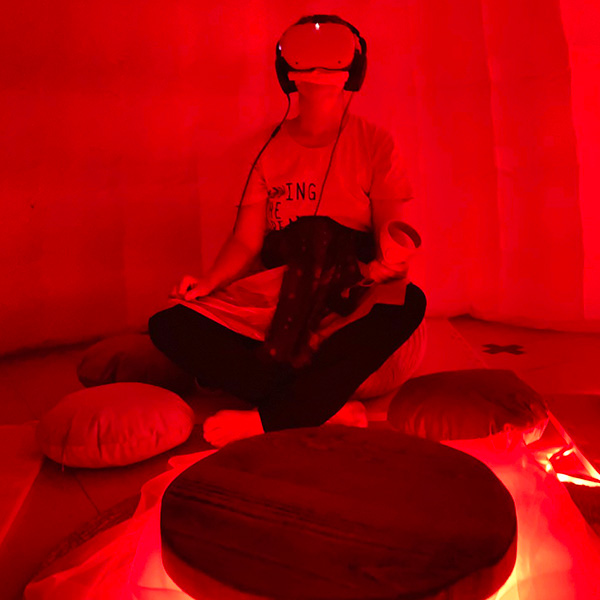 Sitting Womb Dome Tent | INTER/her Experience